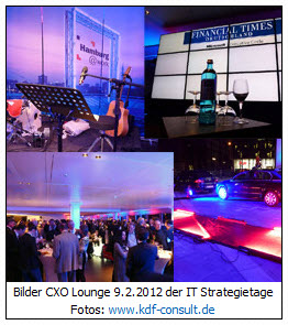 Screenshot Bilder Fotos CXO Lounge IT Strategietage 2012